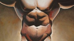 Prey Oil on Canvas Mark Wallis censored version