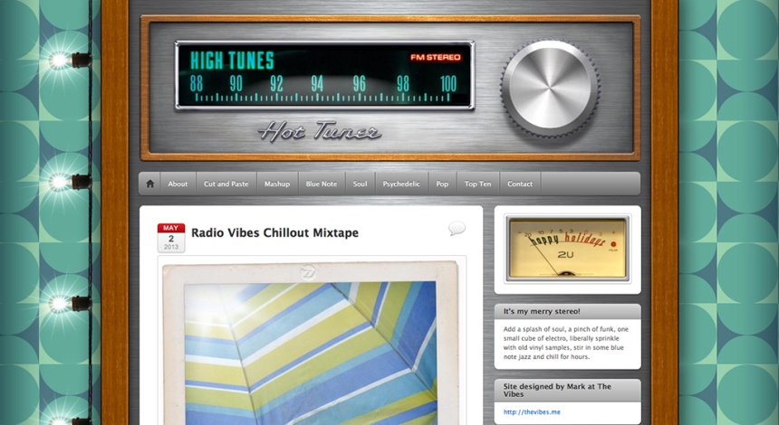 High Tunes Music website designed by Mark Wallis