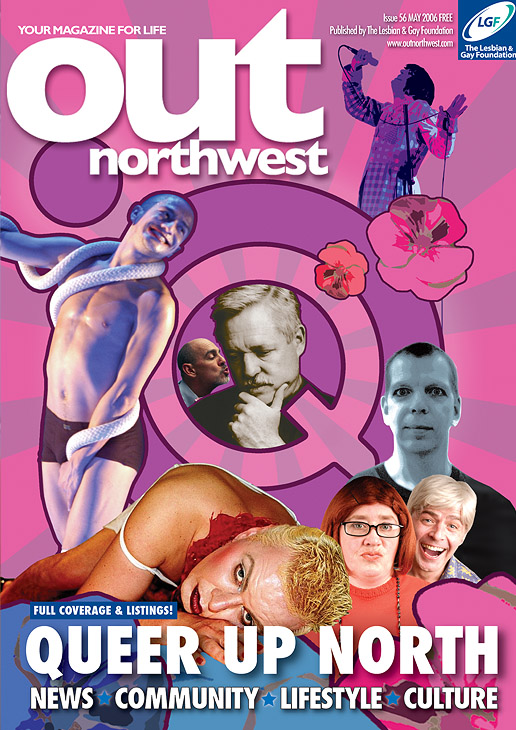 Out North West Magazine Cover by Mark Wallis