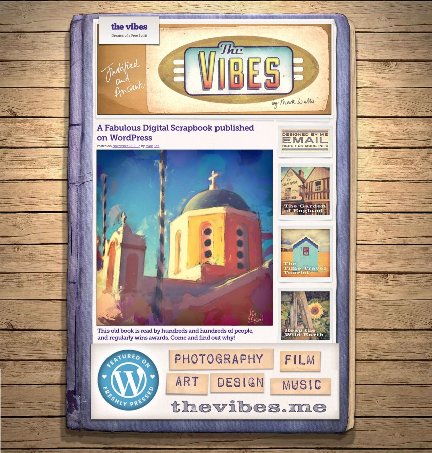 The Vibes Promotional Image Canvas Book