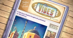 The Vibes web design by Mark Wallis
