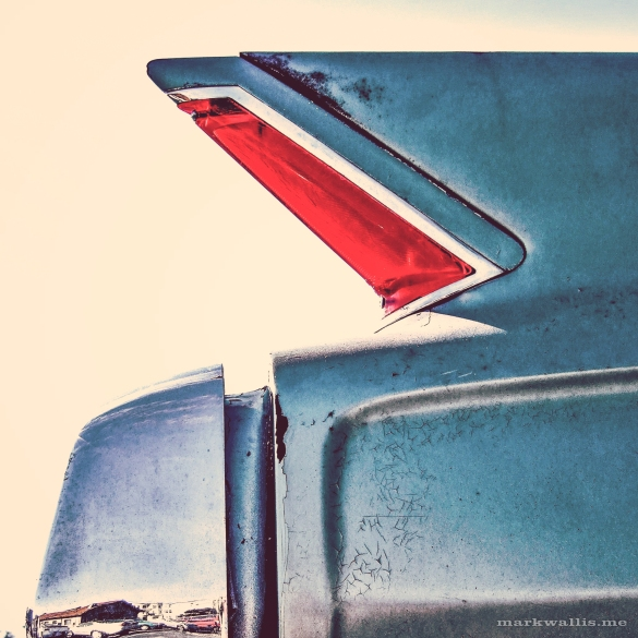 American car in The Haight, San Francisco by Mark Wallis