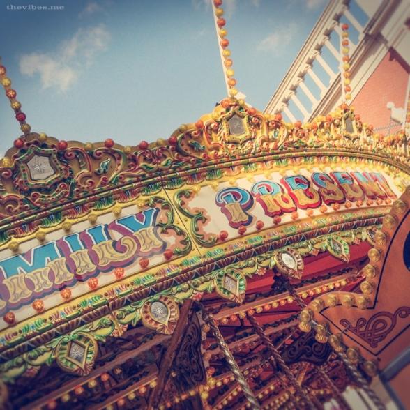 Victorian carousel by Mark Wallis