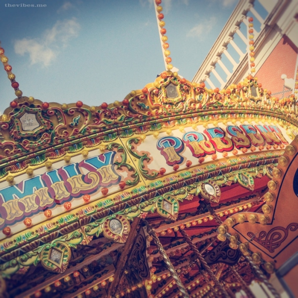 Victorian carousel by Mark Wallis