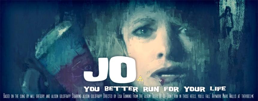 Goldfrapp - Jo, movie poster by Mark Wallis