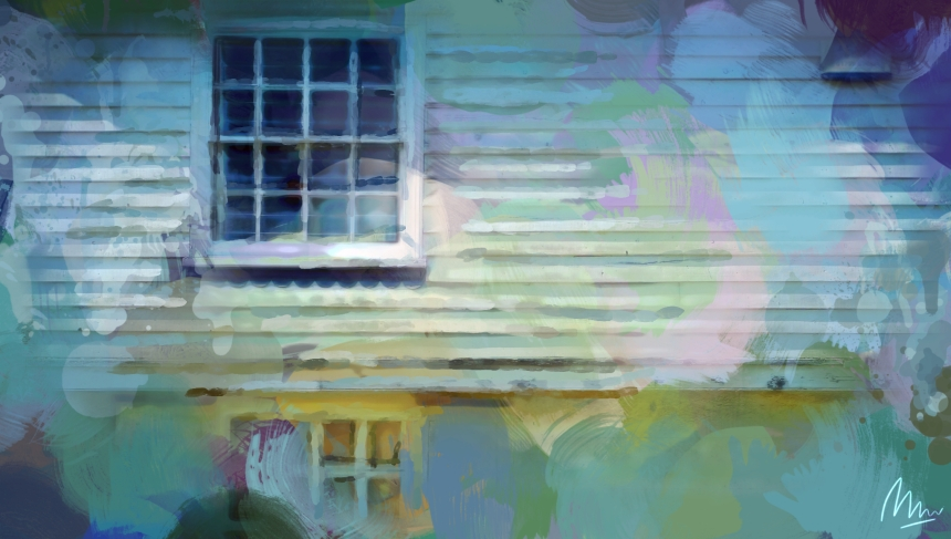 Faversham, Kent - Digital Painting by Mark Wallis