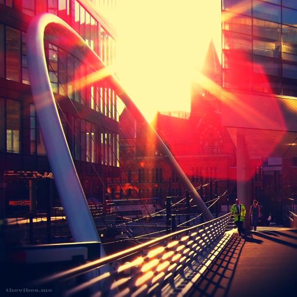 City Sun by Mark wallis