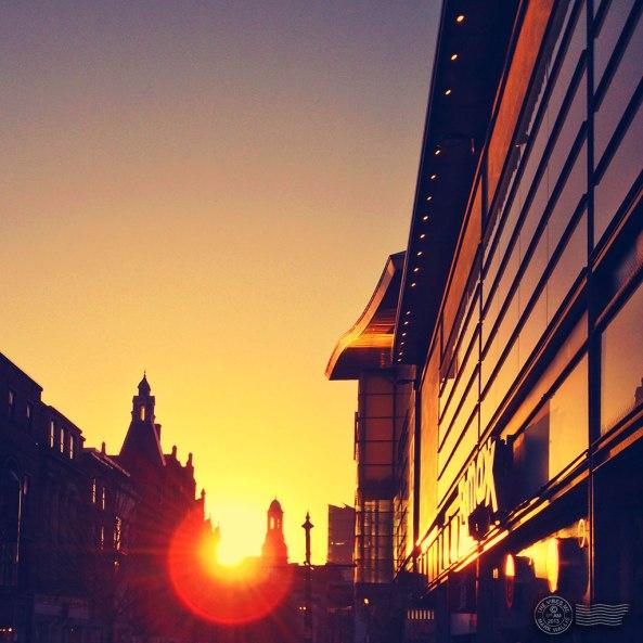Market Street Manchester by Mark Wallis