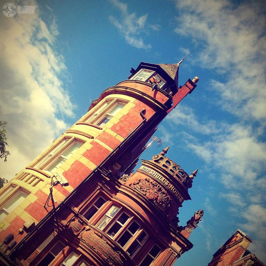 Minshull House Manchester by Mark Wallis
