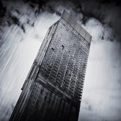 Beetham Tower, Hilton Hotel by Mark Wallis