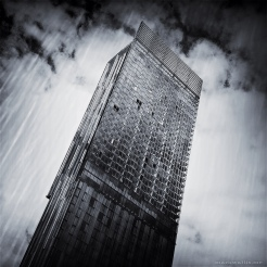 Beetham Tower, Hilton Hotel by Mark Wallis