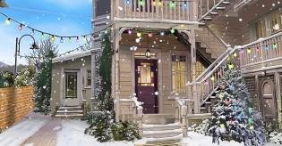 Barbary Lane at Christmas